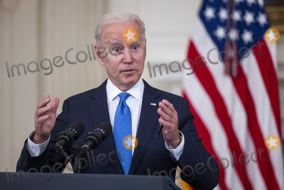 White House Photo - United States President Joe Biden makes remarks on the implementation of the American Rescue Plan (ARP) in the State Dining Room of the White House in Washington DC on Wednesday May 5 2021  The President detailed the ARPs Restaurant Revitalization Fund which provides 286 billion in direct relief to restaurants and food and beverage establishmentsCredit Jim LoScalzo  Pool via CNPAdMedia