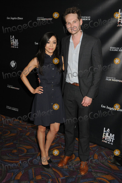 Adam Nee Photo - 13 June 2015 - Los Angeles California - Aimee Garcia Adam Nee LA Film Festival 2015 Premiere of Band Of Robbers held at Regal Cinemas LA Live Photo Credit Byron PurvisAdMedia