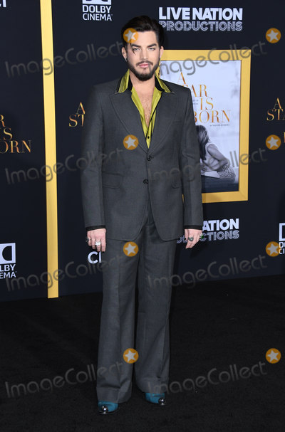 Adam Lambert Photo - 24 September 2018 - Los Angeles California - Adam Lambert A Star is Born Los Angeles Premiere held at The Shrine Auditorium Photo Credit Birdie ThompsonAdMedia