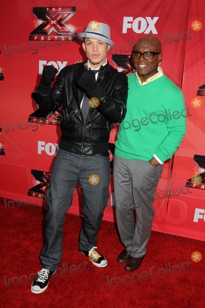 Antonio LA Reid Photo - 19 December 2011 - Los Angeles California - Chris Rene and Antonio LA Reid FOXs The X Factor Press Conference held at CBS Television City Photo Credit Byron PurvisAdMedia
