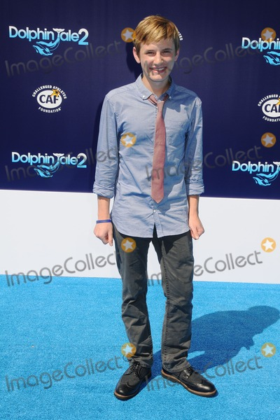 Nathan Gamble Photo - 7 September 2014 - Westwood California - Nathan Gamble Dolphin Tale 2 Los Angeles Premiere held at the Regency Village Theatre Photo Credit Byron PurvisAdMedia