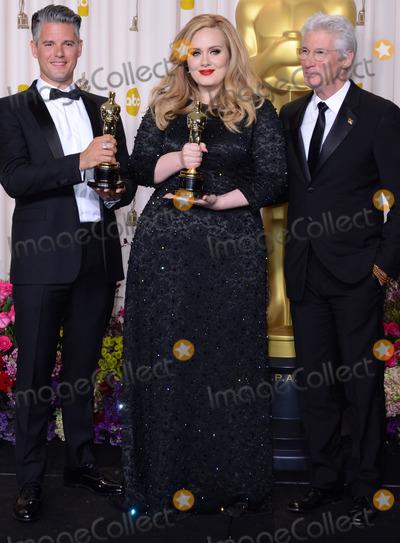 Adele Adkins Photo - 24 February 2013 - Hollywood California - Paul Epworth Adele Adkins Richard Gere 85th Annual Academy Awards held at the Dolby Theatre at Hollywood  Highland Center Photo Credit Russ ElliotAdMedia