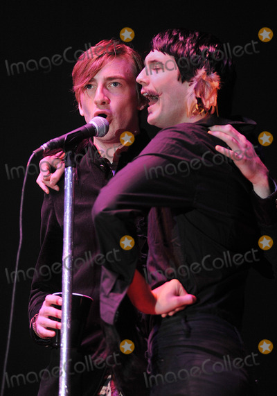 Alex Nauth Photo - 03 June 2011 - Pittsburgh PA - Vocalist ERIC SEAN NALLY and backup vocalist ALEX NAUTH of the band FOXY SHAZAM perform as opening act for PANIC AT THE DISCO on a stop on their Vices  Virtues Tour 2011 held at Stage AE  Photo Credit Jason L NelsonAdMedia