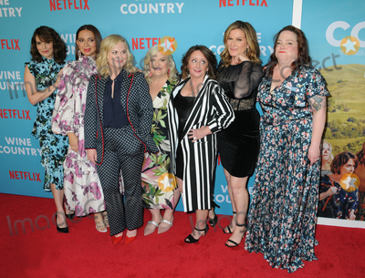 Emily Spivey Photo - Tina Fey Maya Rudolph Amy Poehler Paula PellRachel DratchAna Gasteyer andEmily Spivey at the World Premiere of WINE COUNTRY at the Paris Theater in New York New York  USA 08 May 2019