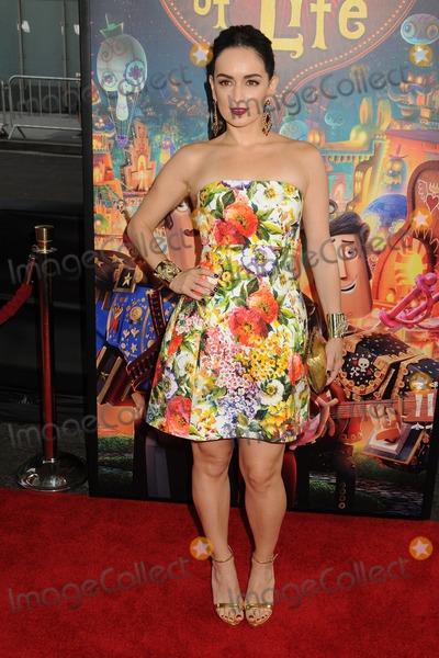 Ana De la reguera Photo - 12 October 2014 - Los Angeles California - Ana de la Reguera The Book of Life Los Angeles Premiere held at Regal Cinemas LA Live Photo Credit Byron PurvisAdMedia
