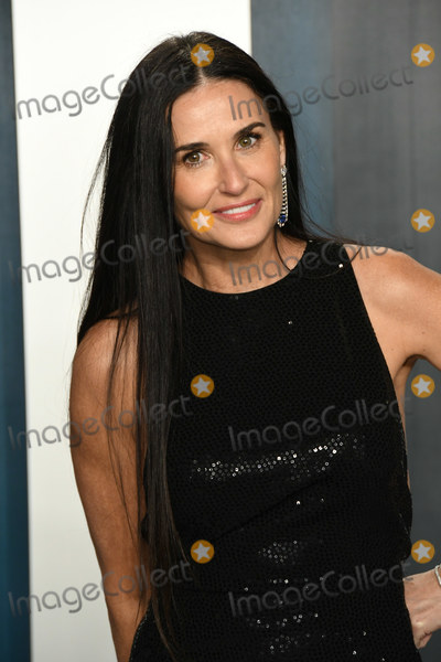 Demi Moore Photo - 09 February 2020 - Los Angeles California - Demi Moore 2020 Vanity Fair Oscar Party following the 92nd Academy Awards held at the Wallis Annenberg Center for the Performing Arts Photo Credit Birdie ThompsonAdMedia
