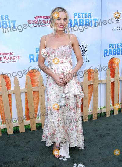 Margot Robbie Photo - 03 February 2018 - Los Angeles California - Margot Robbie Peter Rabbit Los Angeles Premiere held at The Grove Photo Credit Birdie ThompsonAdMedia