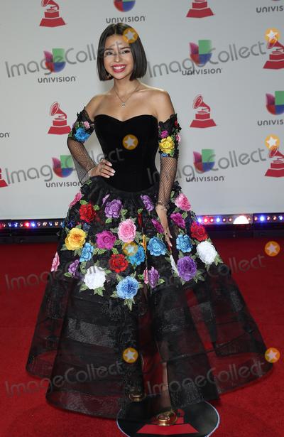 Angela Aguilar Photo - 15 November 2018 - Las Vegas NV - Angela Aguilar  2018 Latin Grammy arrivals at MGM Grand Garden Arena Photo Credit MJTAdMedia