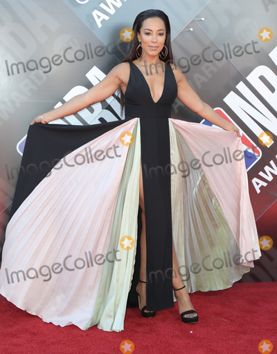 Angela Rye Photo - 25 June 2018 - Santa Monica California - Angela Rye  2018 NBA Awards held at Barker Hangar Photo Credit PMAAdMedia