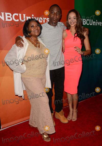 Amber West Photo - 02 April 2015 - Pasadena California - Loretta Divine Jerrod Carmichael Amber West Arrivals for the NBC Universal Summer Press Day held at Langham Hotel Photo Credit Birdie ThompsonAdMedia