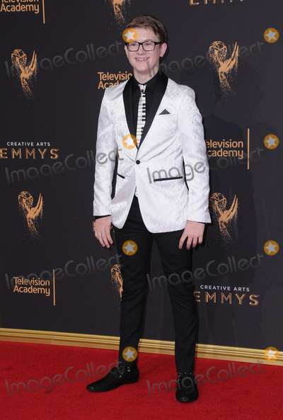 Aidan Miner Photo - 10 September  2017 - Los Angeles California - Aidan Miner 2017 Creative Arts Emmys - Arrivals held at Microsoft Theatre LA Live in Los Angeles Photo Credit Birdie ThompsonAdMedia