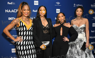 Tamera Mowry Photo - 21 February 2020 - Hollywood California - Amanda Seales Tamera Mowry-Housley Adrienne Bailon Adrienne Hougton Jeannie Mai 51st NAACP Image Awards - Non-Televised Awards Dinner  held at the Ray Dolby Ballroom Photo Credit Birdie ThompsonAdMedia