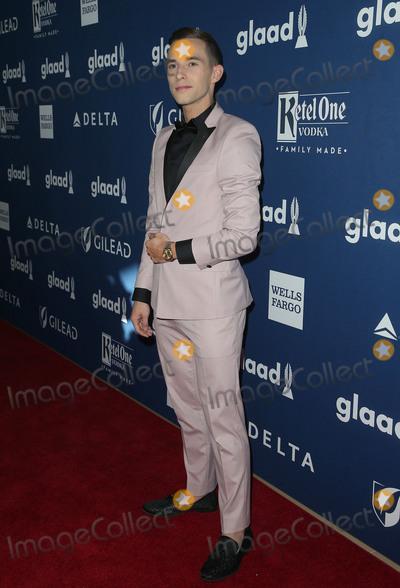 Adam Rippon Photo - 13 April 2018 - Beverly Hills California - Adam Rippon 29th Annual GLAAD Media Awards at The Beverly Hilton Hotel Photo Credit F SadouAdMedia