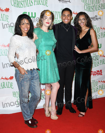 Annika Noelle Photo - 25 November 2018 - Hollywood California - Karla Mosley Annika Noelle Adain Bradley Kiara Barnes  The 87th Annual Hollywood Christmas Parade held at Hollywood Blvd Photo Credit Birdie ThompsonAdMedia