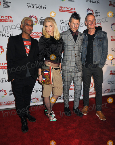 Tom Dumont Photo - 16 May 2015 - Hollywood California - Tony Kanal Gwen Stefani Adrian Young Tom Dumont No Doubt An Evening With Women 2015 Benefit for the LGBT Center of Los Angeles held at the Hollywood Palladium Photo Credit Byron PurvisAdMedia