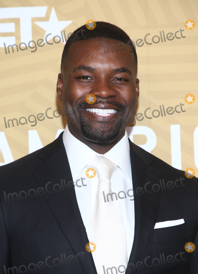 Amine Photo - 23 February 2020 - Beverly Hills California - Amin Joseph American Black Film Festival Honors Awards Ceremony held at The Beverly Hilton Hotel Photo Credit FSAdMedia