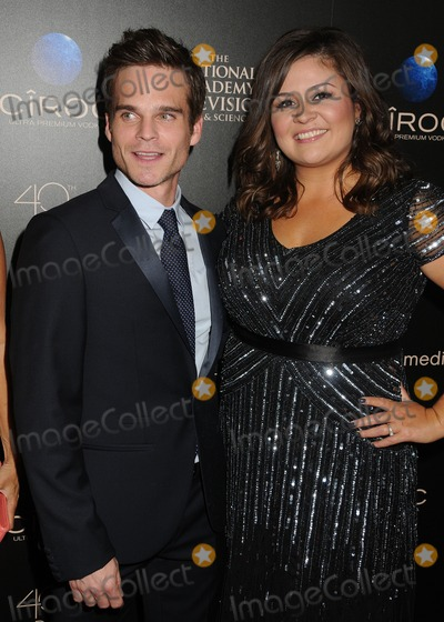Angelica McDaniel Photo - 16 June 2013 - Beverly Hills California - Greg Rikaart Angelica McDaniel 40th Annual Daytime Emmy Awards - Arrivals held at the Beverly Hilton Hotel Photo Credit Byron PurvisAdMedia
