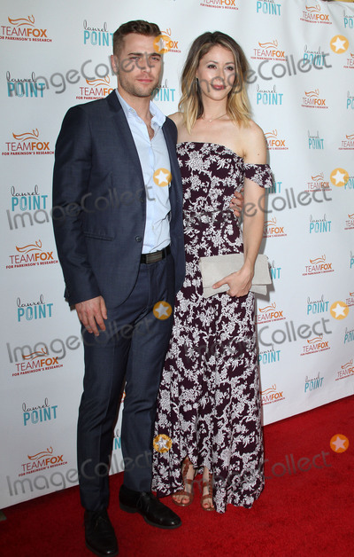 Amanda Crew Photo - 27 July 2016 - Los Angeles California - Dustin Milligan and Amanda Crew Raising The Bar To End Parkinsons Fundraiser held at Laurel Point in Studio City Photo Credit AdMedia