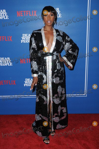 Ashley Blaine Photo - 27 April 2017 - Los Angeles California - Ashley Blaine Featherson Los Angeles screening premiere of Netflixs Dear White People held at Downtown Independent in Los Angeles Photo Credit Birdie ThompsonAdMedia
