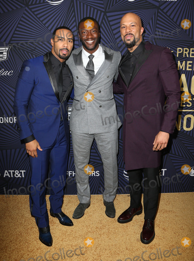 Aldis Hodges Photo - 17 February 2017 - Beverly Hills California - Aldis Hodge Common Larenz Tate BET 2017 American Black Film Festival Honors Awards held at The Beverly Hilton Hotel Photo Credit AdMedia