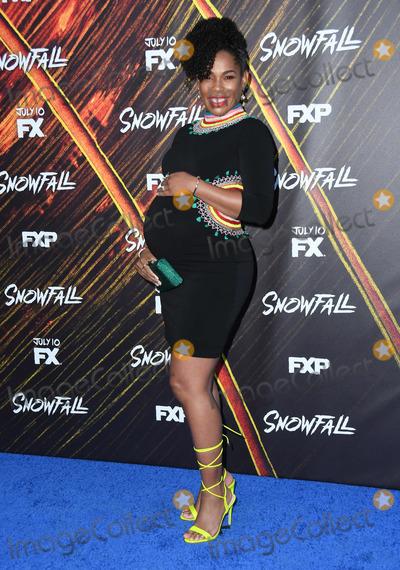 Angela Lewis Photo - 07 July 2019 - Los Angeles California - Angela Lewis Snowfall Season 3 Los Angeles Premiere held at Bovard Auditorium Photo Credit Birdie ThompsonAdMedia