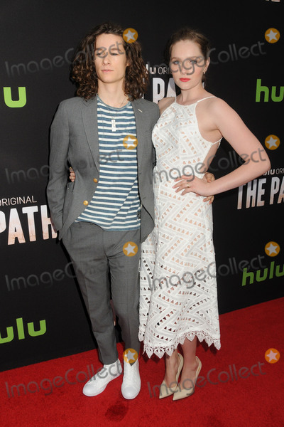 Amy Forsyth Photo - 21 March 2016 - Hollywood California - Kyle Allen Amy Forsyth The Path Los Angeles Series Premiere held at Arclight Cinemas Photo Credit Byron PurvisAdMedia
