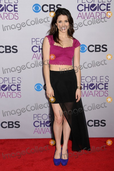 Ali Cobrin Photo - 9 January 2013 - Los Angeles California - Ali Cobrin Peoples Choice Awards 2013 - Arrivals held at Nokia Theatre LA Live Photo Credit Byron PurvisAdMedia