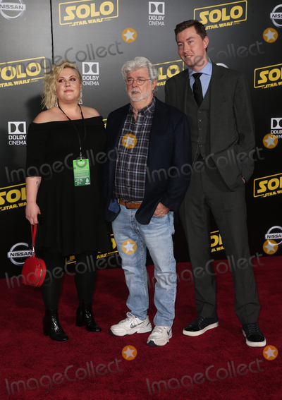 George Lucas Photo - 10 May 2018 - Hollywood California - George Lucas Katie Lucas Jett Lucas Solo A Star Wars Story Los Angeles Premiere held at Dolby Theater Photo Credit F SadouAdMedia