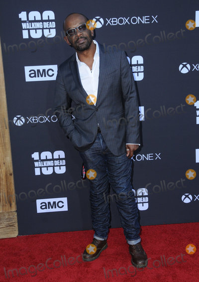 Lenny James Photo - 22 October  2017 - Los Angeles California - Lennie James AMC Celebrates the 100th Episode of The Walking Dead held at The Greek Theater in Los Angeles Photo Credit Birdie ThompsonAdMedia