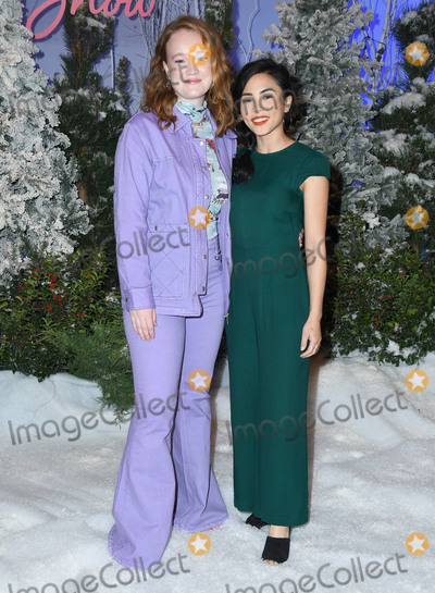 Anna Akana Photo - 01 November 2019 - Beverly Hills California - Liv Hewson Anna Akana Netflixs Let It Snow Photo Call held at Four Season Hotel Photo Credit Birdie ThompsonAdMedia