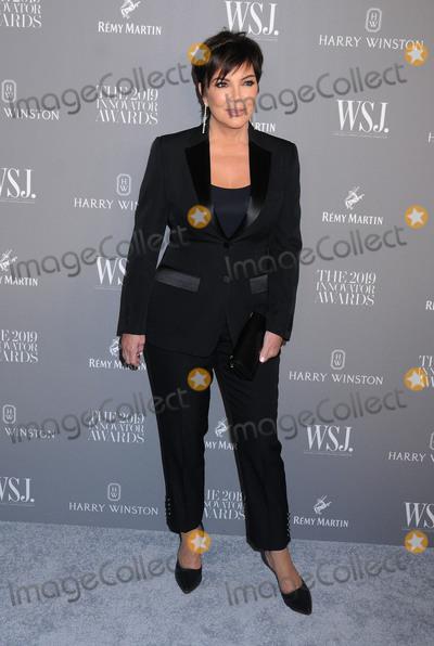 Kris Jenner Photo - November 6 2019 - New York New York - Kris Jenner WSJ Magazine 2019 Innovator Awards Sponsored By Harry Winston And Remy Martin held at  MOMA Photo Credit AdMedia