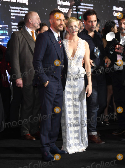 Tom Hardy Photo - 01 October 2018 - Westwood California - Tom Hardy Michelle Williams  Venom Los Angeles Premiere held at Regency Village Theater Photo Credit Birdie ThompsonAdMedia