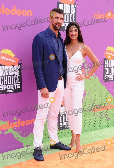 Michael Phelps Photo - 13 July 2017 - Los Angeles California - Michael Phelps Nicole Johnson Nickelodeon Kids Choice Sports Awards 2017 held at the Pauley Pavilion in Los Angeles Photo Credit Birdie ThompsonAdMedia