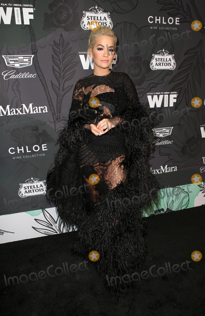 Rita  Ora Photo - 22 February 2019 - Beverly Hills California - Rita Ora The 12th Annual Women In Film Oscar Party held at The Spring Place Photo Credit Faye SadouAdMedia