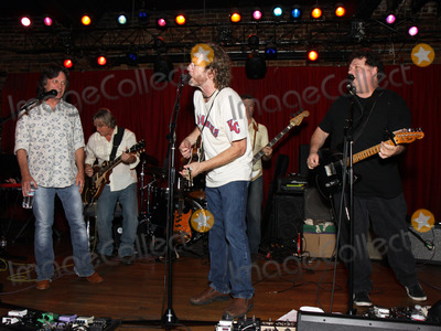 Jeff Hanna Photo - July 26 2011 - Nashville TN - (l-r) Jeff Hanna Sam Bush and Bill Lloyd Artists musicians and songwriters came together at Mercy Lounge to help raise funds for Pete Huttlinger a widely respected guitarist and Nashville studio artist  Huttlinger has a congenital heart disease and is in need of a heart transplant Photo credit Dan HarrAdmedia
