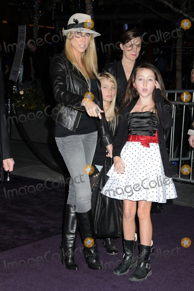 Noah Cyrus Photo - 8 February 2011 - Los Angeles California - Leticia Cyrus and Noah Cyrus Justin Bieber Never Say Never Los Angeles Premiere held at Nokia Theater LA Live Photo Byron PurvisAdMedia