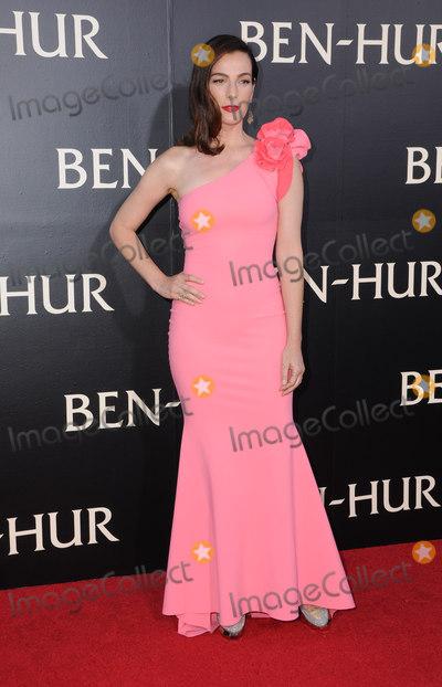 Ayelet Zurer Photo - 16 August 2016 - Hollywood California Ayelet Zurer Los Angeles premiere of Ben-Hur held at TCL Chinese Theatre Photo Credit Birdie ThompsonAdMedia
