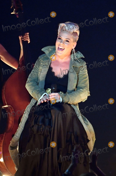 Alecia Moore Photo - 08 November 2017 - Nashville Tennessee - Pink Alecia Moore 51st Annual CMA Awards Country Musics Biggest Night held at Bridgestone Arena Photo Credit Laura FarrAdMedia