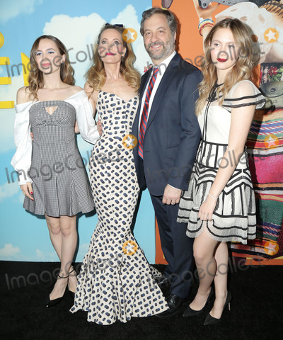 Judd Apatow Photo - 10 December 2018 - Hollywood California - Leslie Mann Judd Apatow Maude Apatow Iris Apatow  Universal Pictures And DreamWorks Pictures Premiere Of Welcome To Marwen held at The Acrlight Hollywood Photo Credit PMAAdMedia