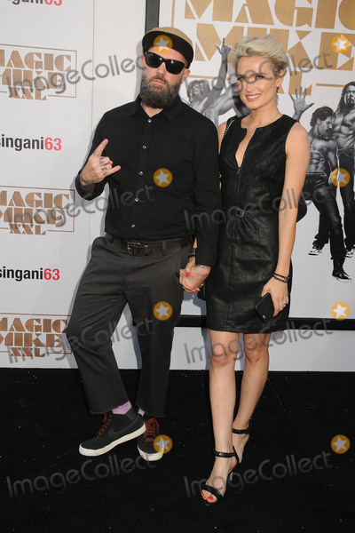 Fred Durst Photo - 25 June 2015 - Hollywood California - Fred Durst Kseniya Beryazina Magic Mike XXL Los Angeles Premiere held at the TCL Chinese Theatre Photo Credit Byron PurvisAdMedia