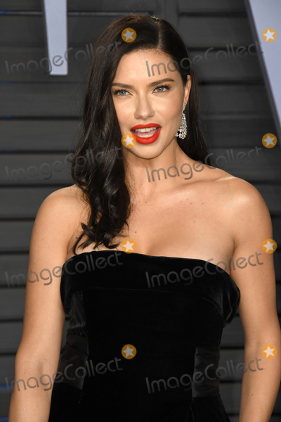 Adriana Lima Photo - 04 March 2018 - Los Angeles California - Adriana Lima 2018 Vanity Fair Oscar Party following the 90th Academy Awards held at the Wallis Annenberg Center for the Performing Arts Photo Credit Birdie ThompsonAdMedia