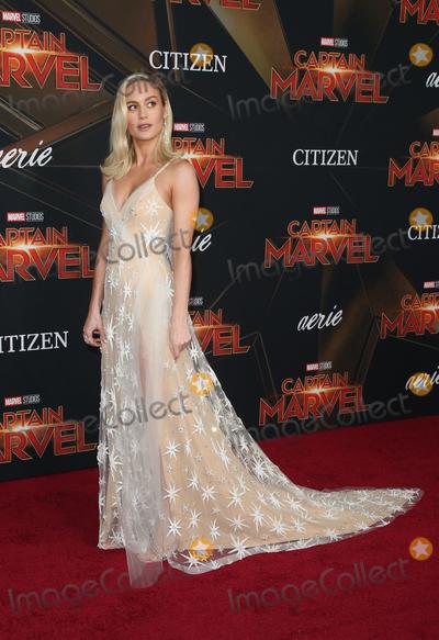Brie Larson Photo - 4 March 2019 - Hollywood California - Brie Larson Marvel Studios Captain Marvel Premiere held at El Capitan Theatre Photo Credit Faye SadouAdMedia