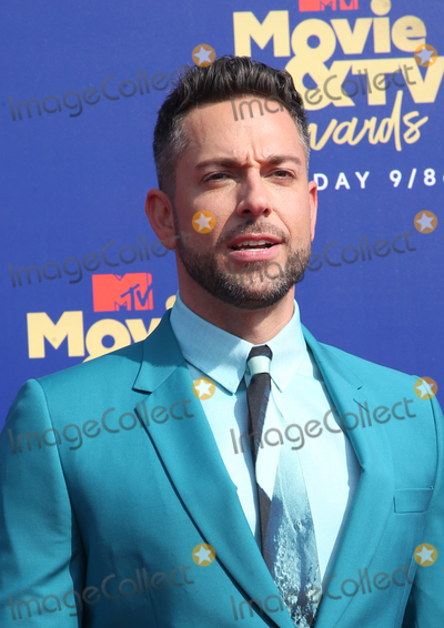 Zachary Levi Photo - 15 June 2019 - Santa Monica California - Zachary Levi 2019 MTV Movie And TV Awards  held at Barker Hangar Photo Credit Faye SadouAdMedia
