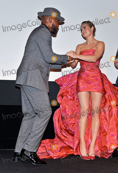 Brie Larson Photo - 06 September 2019 - Toronto Ontario Canada - Jamie Foxx Brie Larson 2019 Toronto International Film Festival - Just Mercy Premiere held at Roy Thomson Hall Photo Credit Brent PerniacAdMedia