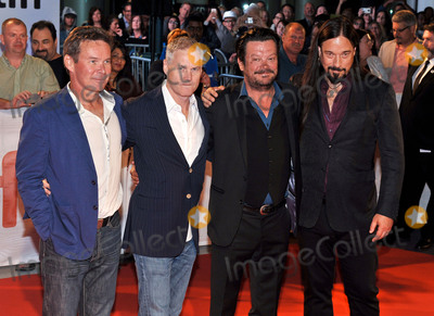 The Tragically Hip Photo - 13 September 2017 - Toronto Ontario Canada - Paul Langlois Johnny Fay Gord Sinclair and Rob Baker of The Tragically Hip 2017 Toronto International Film Festival - Long Time Running Premiere held at  Roy Thomson Hall Photo Credit Brent PerniacAdMedia
