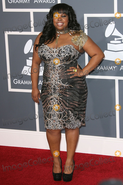 Amber Riley Photo - 13 February 2011 - Los Angeles California - Amber Riley The 53rd Annual GRAMMY Awards held at Staples Center Photo Credit AdMedia Photo AdMedia