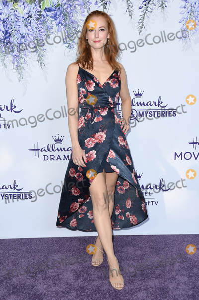 Alicia Witt Photo - 26 July 2018 - Beverly Hills California - Alicia Witt 2018 Hallmark Channel Summer TCA held at Private Residence Photo Credit Birdie ThompsonAdMedia