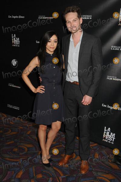 Adam Nee Photo - 13 June 2015 - Los Angeles California - Aimee Garcia Adam Nee LA Film Festival 2015 Premiere of Band Of Robbers held at Regal Cinemas LA Live Photo Credit Byron PurvisAdMedia