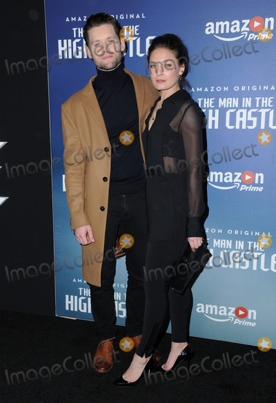 Alexa Davalos Photo - 08 December 2016 - Los Angeles California Luke Kleintank Alexa Davalos   Premiere of Amazons Man In The High Castle held at Pacific Design Center Photo Credit Birdie ThompsonAdMedia