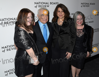 Martin Scorsese Photo - 08 January 2020 - New York New York - Martin Scorsese and family at the National Board of Review Annual Awards Gala held at Cipriani 42nd Street Photo Credit LJ FotosAdMedia